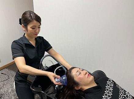 頭皮の洗浄